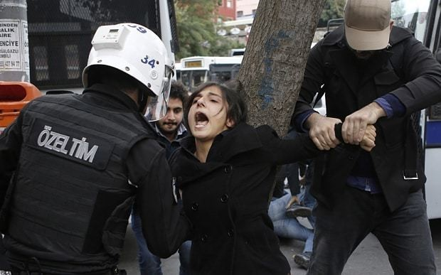 EU attacks Turkey's 'backsliding' on rule of law, human rights and freedom of expression