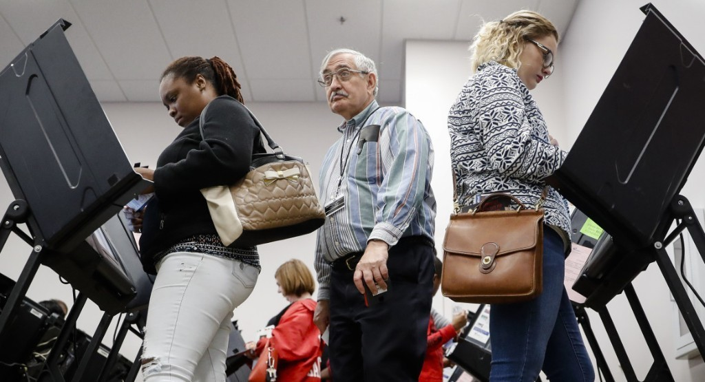 Record-breaking early voting fuels Democratic optimism