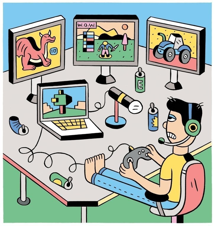 How to Get Rich Playing Video Games Online