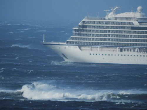 Luxury cruise ship lost engines due low level of lubricating oil: Norway