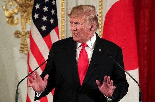 Trump says Iran nuclear deal possible as sanctions bite