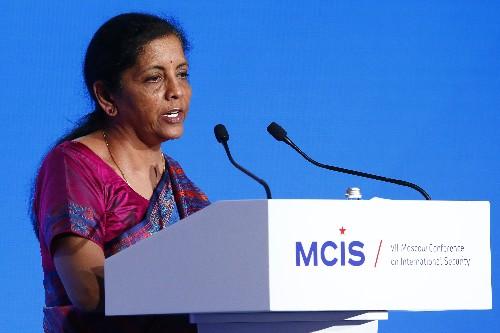Nirmala Sitharaman to meet press amid stimulus expectations