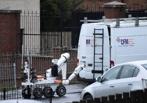 Van reportedly seized and abandoned in Northern Ireland, days after car bomb