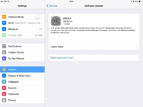 Apple iOS 8.4 Hit By Return Of Crippling Bug