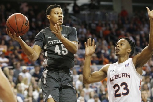 Okoro, Doughty help No. 16 Auburn hold off Iowa State