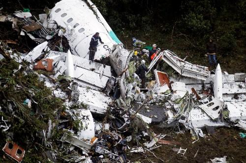 Plane Crash Devastates Brazil Soccer Team: Pictures