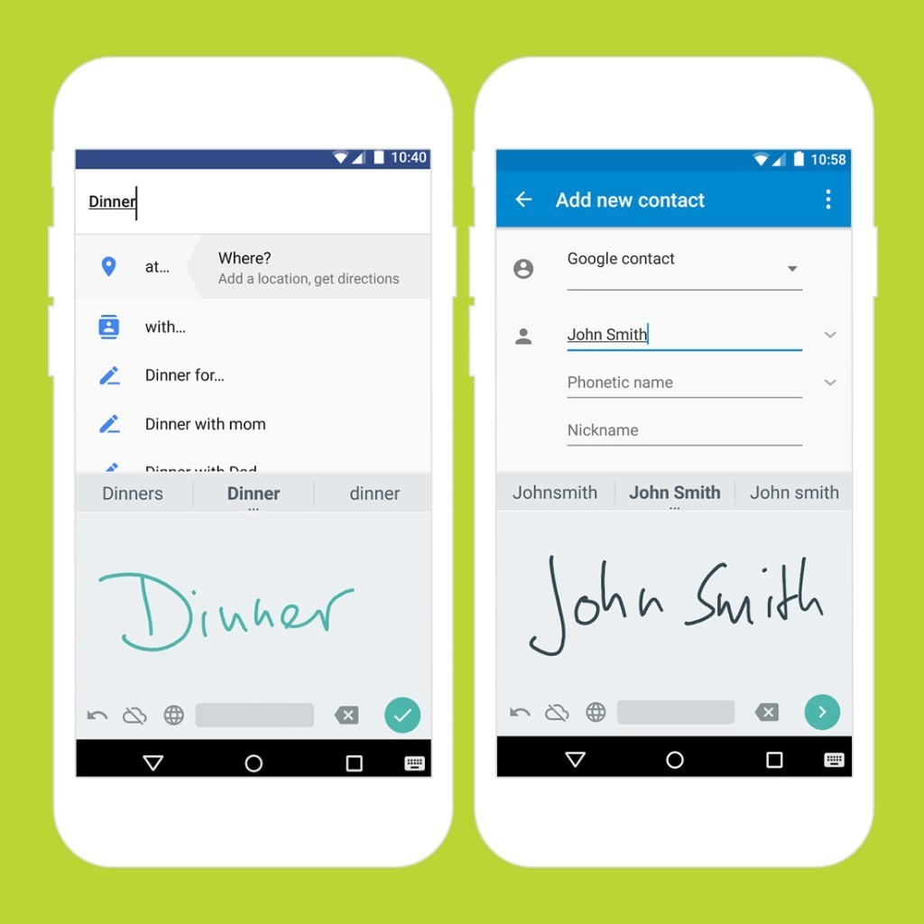 How Google Is Bringing Handwriting Back for Your Smartphone