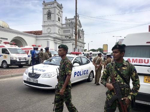 The Latest: Death toll in Sri Lanka blasts rises to 207