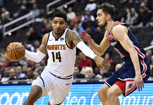 Jokic leads balanced Nuggets past Wizards
