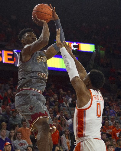 Reed drops 31 as Clemson pushes past Boston College