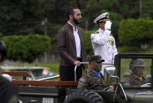 El Salvador president rules out talks with criminal gangs