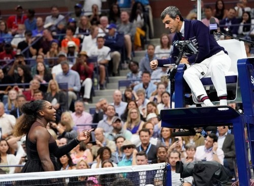 Serena 'out of line' but both sides share blame says King