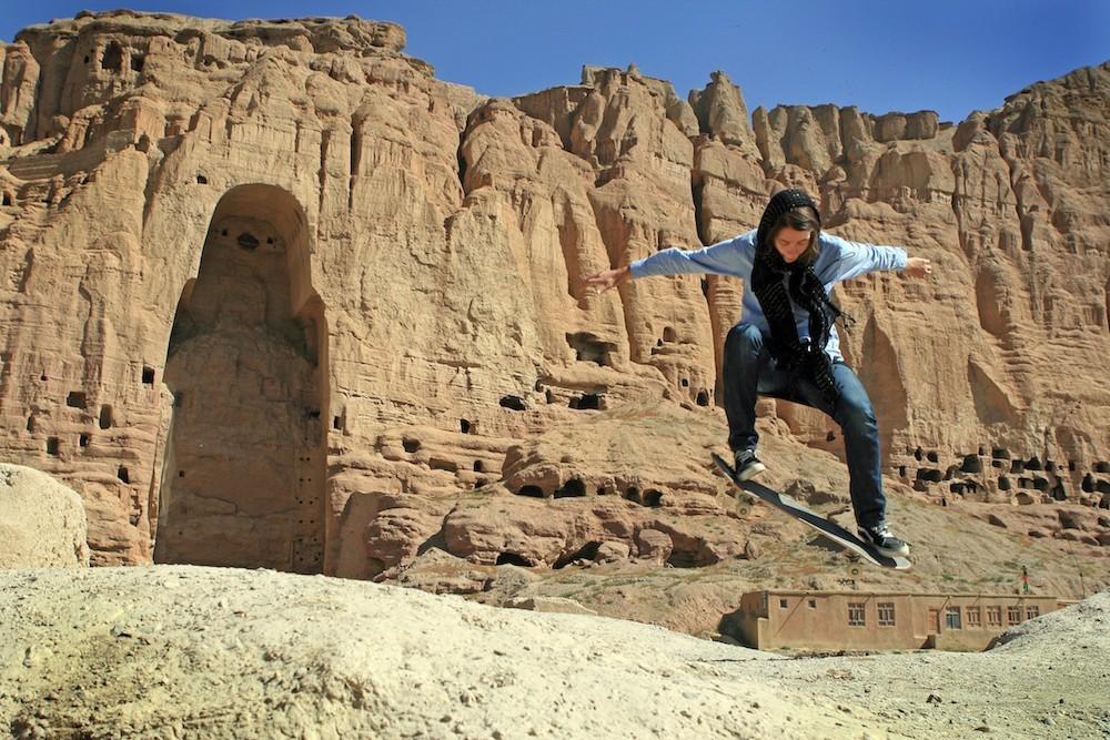 Skateboarding Makes Afghan Girls Feel Free