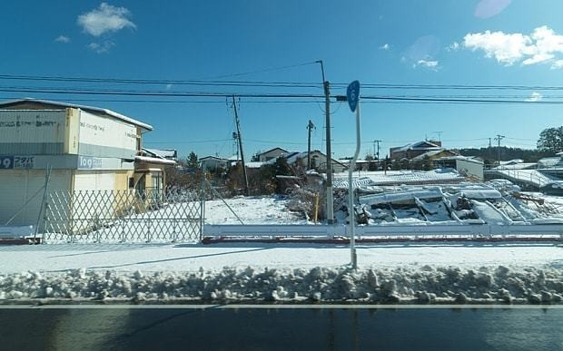 A bus ride through Japan's nuclear wilderness