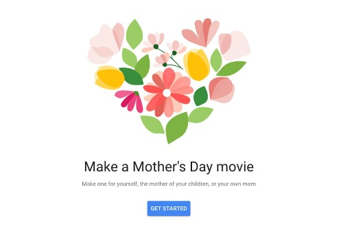 Google Photos can turn your pictures into a Mother's Day movie