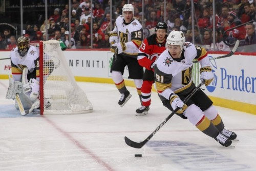 NHL roundup: Devils lose to Knights after coaching change