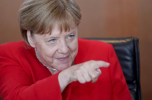 Merkel: Feeling better after shaking raised health questions