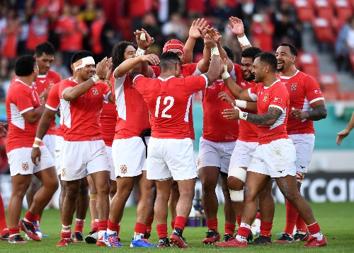 Proof is in the pudding as Tonga smile and move on