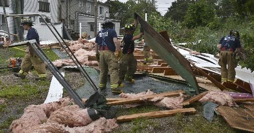 Tornado hits Cape Cod as thunderstorms break the heat