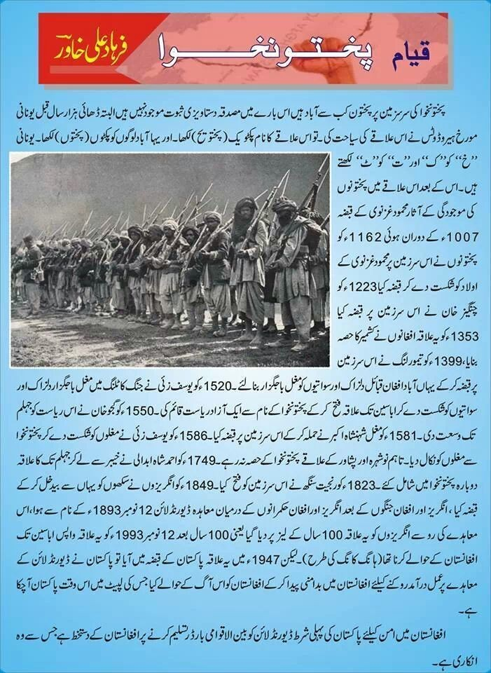 The history of pakhtun