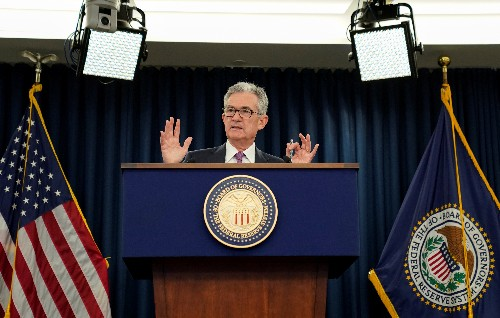 Explainer: What changed for the Fed in seven weeks? Trade risks top the list