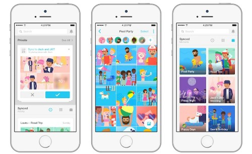Facebook forces its photo-sharing app Moments to the top of the App Store