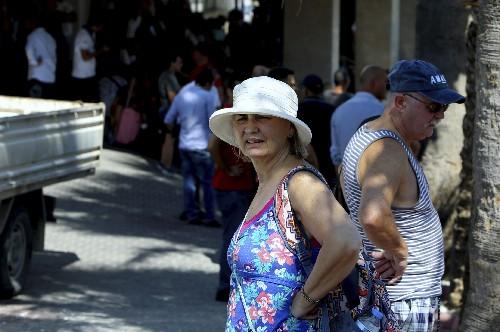 12 slightly hurt in northern Cyprus Turkish army depot blast