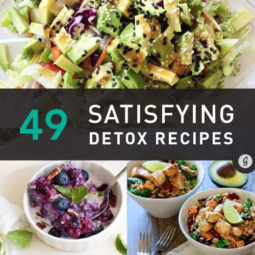 49 Detox Recipes (That Actually Contain Food)