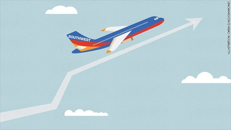 Southwest Airlines: Top stock of 2014