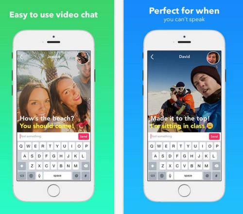 """Yahoo Quietly Launches A New """"Video Texting"""" Mobile Messaging App On iTunes"""