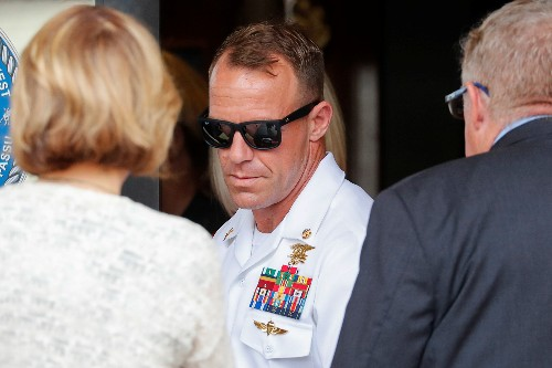 Medic testifies at Navy SEAL trial he killed victim, not defendant