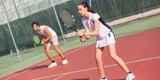 El tenis es un deporte de raqueta que se practica sobre una pista de tenis rectangular (compuesta por distintas superficies las cuales pueden ser cemento, tierra, o césped), delimitada por líneas y dividida por una red. La palabra española «tenis» proviene del inglés «tennis» que a su vez tiene su origen en el francés «tenez». Cuando el jugador de tenis (llamado «tenista»), ponía la pelota en juego exclamaba «¡tenez!» ('¡ahí va!', en francés).