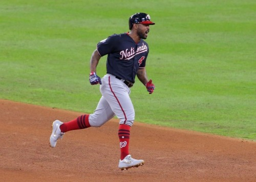 Reports: Nationals re-sign INF Kendrick to one-year deal