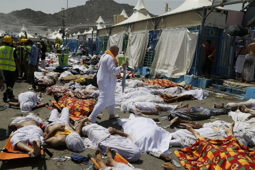 Hundreds Dead in Hajj Stampede: Pictures