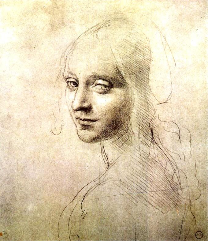 El dibujo más hermoso del mundo. Obra realizada por Leonardo Da vinci.