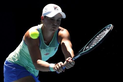 Barty sets up Kvitova semi-final after downing Muguruza in Doha