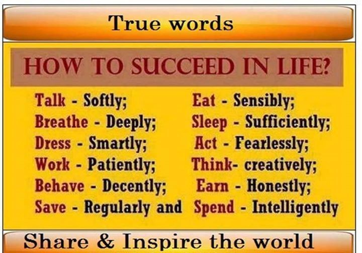 Keys to a better #Living... #Life advice made simple