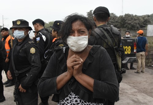 Volcano Eruption in Guatemala Brings Death and Destruction: Pictures