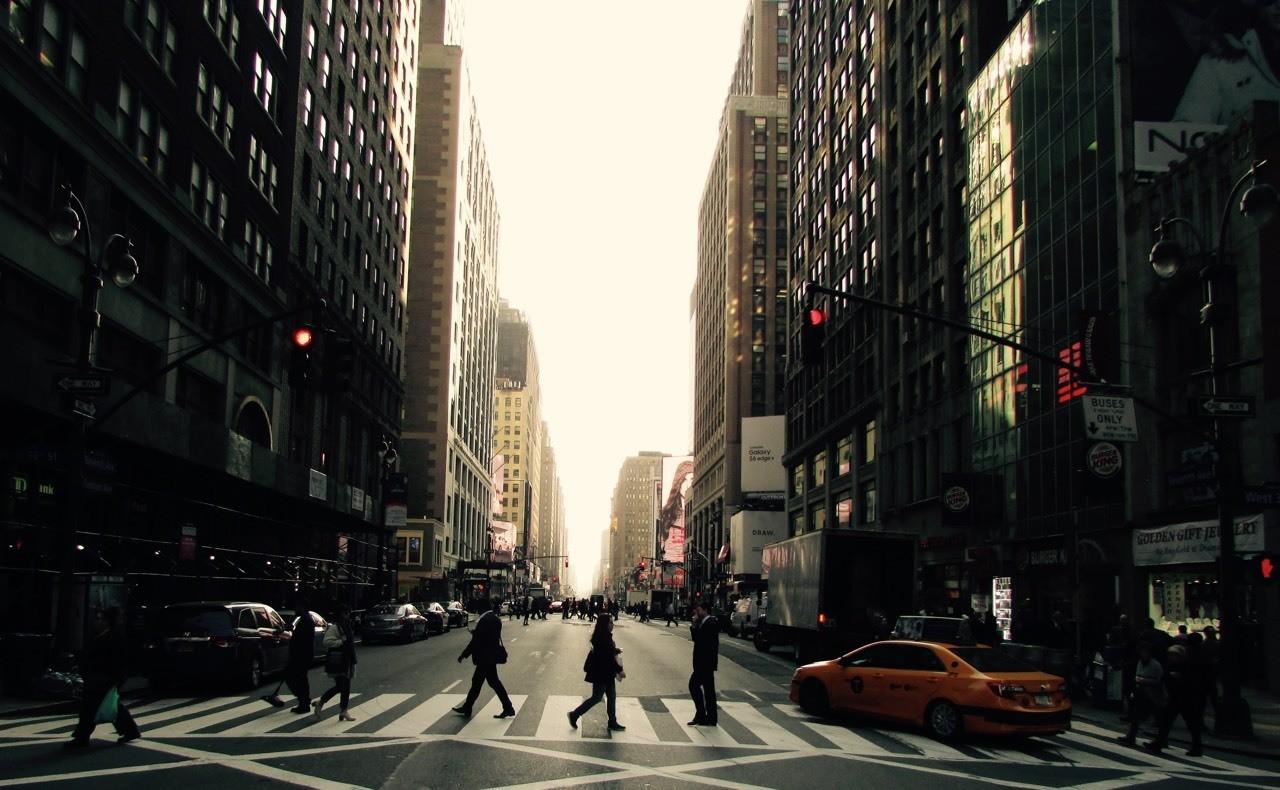 6th Avenue, NY - dusky light