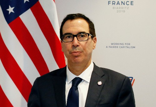 U.S., Chinese officials to discuss trade in Thursday call: Mnuchin