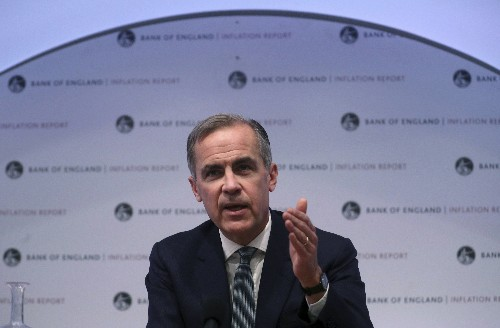 UK inflation below official target for first time in 2 years
