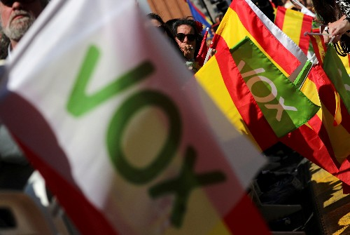 Spain's Socialists, far-right increase their support ahead of election: poll