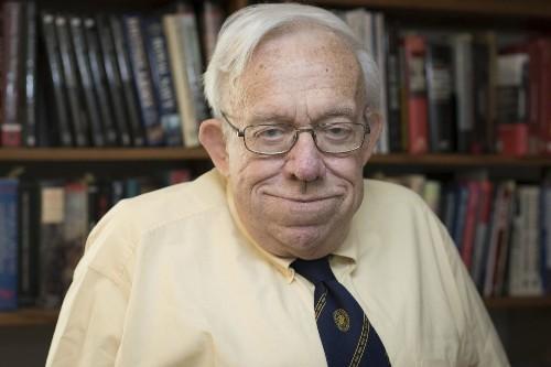 A military scholar has received a $100,000 prize.