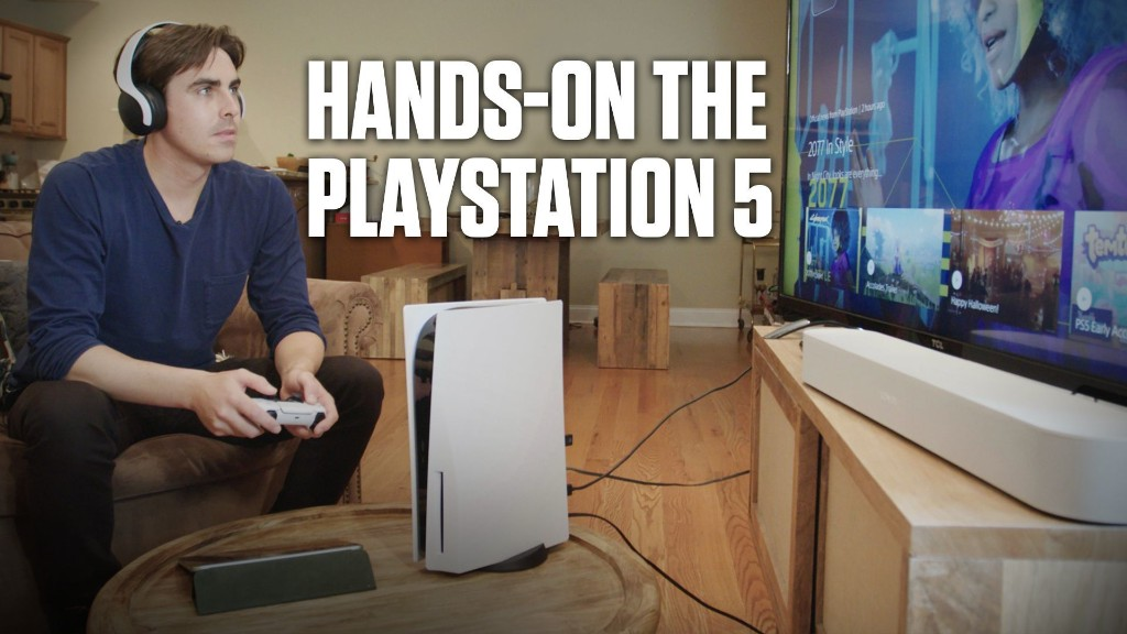 We Got Our Hands on the PlayStation 5
