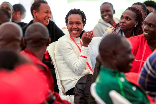 Kenya's Kipyegon ready for Olympic title defence after long absence
