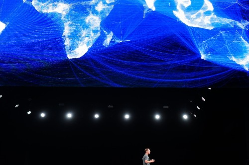 Mark Zuckerberg's theory of human history