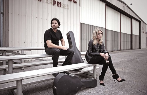 On the Red Couch with Country Music Duo Haley & Michaels