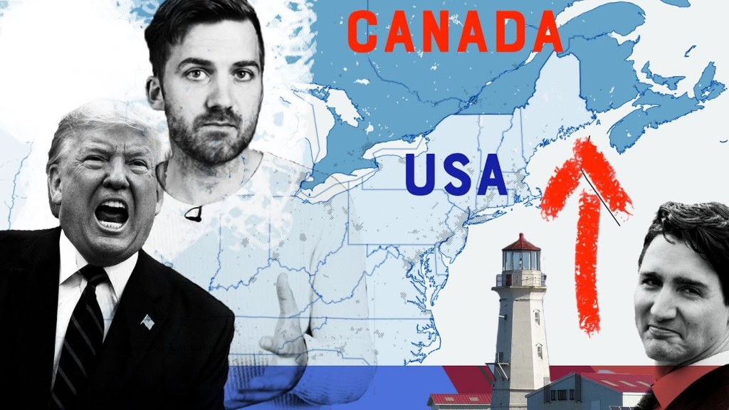 US & Canada's Only Dispute Over Land - cover