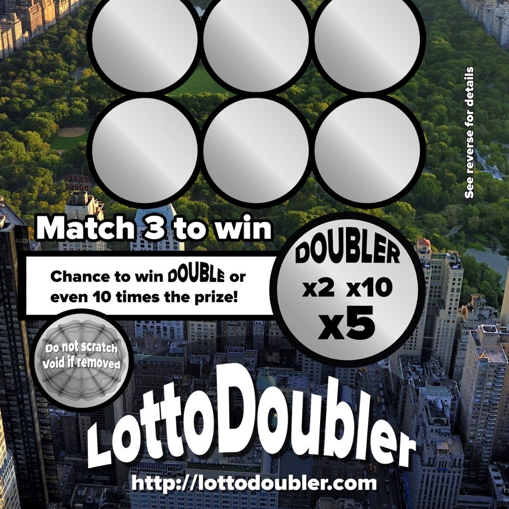 Lottodoubler instant lottery - Magazine cover