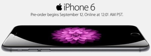 iPhone 6 Pre-Orders to Kick off Tonight at 12:01 AM Pacific